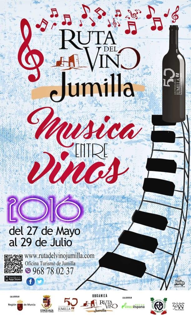 Música Entre Vinos 2016. Jumilla. Enoturismo
